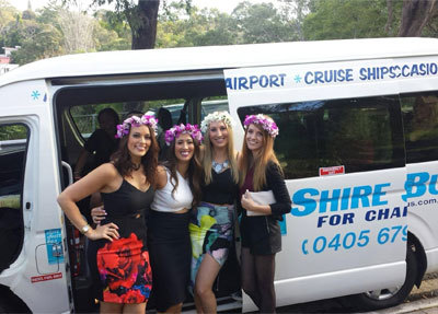 Shuttle Buses for Hens Night's