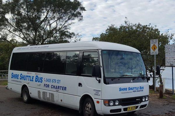 shire shuttle bus