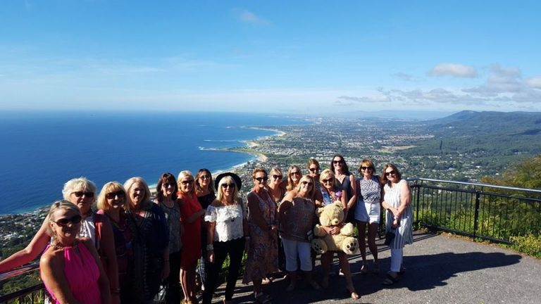 group of people at Sublime Point