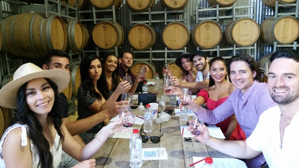 group wine tastings