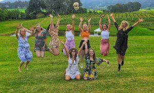 group at vineyard
